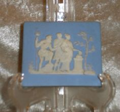 Wedgwood Plaques and Medallions like these adorn the walls of Lowden Hall's dining room.