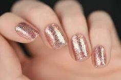 Image result for rose gold nails