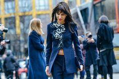 Fall 2015 Ready-to-Wear - Tommy Ton Street Style Photos - Vogue