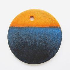 Deep indigo on terracotta. #anchorglazes  Textured Indigo | Cone 05 Ox.  Kaolin 40 Borax 40 Silica 20 + Copper Carbonate 4 + Cobalt Carbonate 4