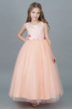 Princess Tutu Pink Dress for 6 Girl Baby Girls Summer kid Clothes Vestidos  Infantil Prom Teenager Kids Princes Weeding Gown 71455e70cdab