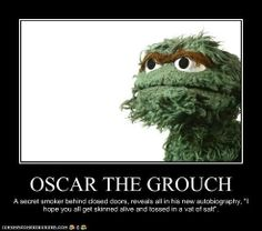funny oscar the grouch pictures for facebook share | OSCAR THE GROUCH