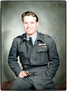 Wing Commander Guy Penrose Gibson VC. DSO DFC and bar and bar.  (12 August 1918 - 19 September 1944)