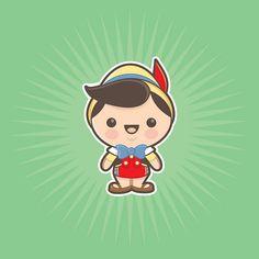 Kawaii Pinocchio by Jerrod Maruyama, via Flickr