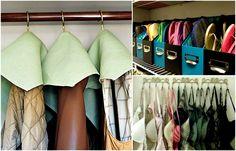 17 хитростей, которые помогут навести порядок в доме и увеличить возможности гардеробной Clothes Hanger, Home, Walk In Closet, Hacks, Rustic Christmas, Coat Hanger, Clothes Hangers, Clothing Racks, Haus