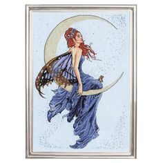 FANTASY FAIRIE, a dreamy once-in-a-blue-moon vision by Nene Thomas.