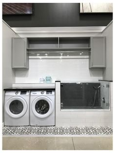 Mudroom Laundry Room, Laundry Room Layouts, Laundry Room Remodel, Small Laundry Rooms, Laundry Room Organization, Laundry Room Design, Ideas For Laundry Room, Dog Room Design, Laundry Room Cabinets