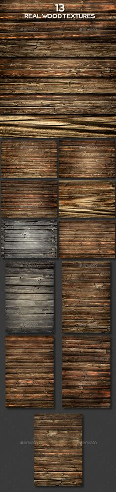 Real Wood Textures — TIFF Image #weathered #cracks • Available here → https://graphicriver.net/item/real-wood-textures/15708855?ref=pxcr