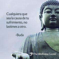 ¡Un profundo desafío nos presenta esta frase atribuida a Buda! Buscar no lastimar a otro al experimentar cualquier clase de sufrimiento es trabajar para hacerse cargo del propio estar siendo, solta…
