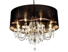 Beaumont 8 Light Crystal Pendant Chandelier | Modern Furniture and Lighting