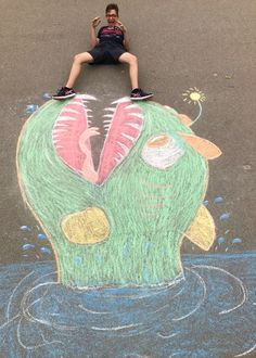 Årg. 2017/18 Chalk Art