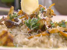 Grilled Mushroom Risotto by Jamie