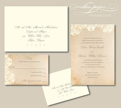 lace invites....how do we make these?