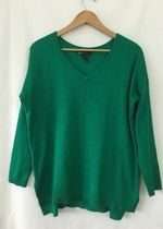 Lane Bryant Green Sweater Blouse!