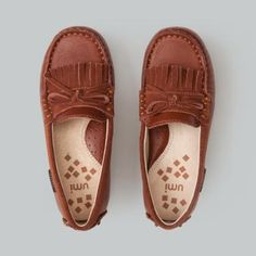 perfect moc detailing for the fashion forward girl, who appreciates timeless styling! www.umishoes.com