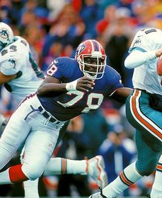 Bruce Smith, Nfl History, Tornados, Lineman, Buffalo Bills, Pittsburgh Steelers, American Football, Football Helmets, Notre Dame