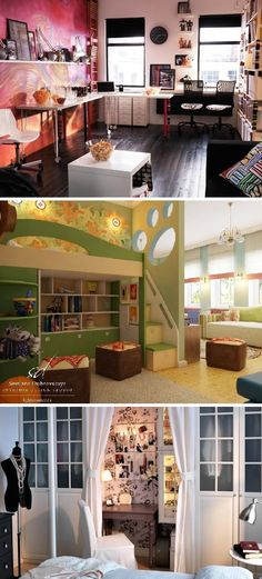 Luxury Kids Bedroom and Workplace  Interior Design