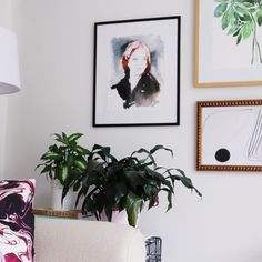 In two years I went from being afraid to own plants (hello black thumb here!) to owning 5. Well 6 if you count my @artfullywalls print         #dslooking #apartmenttherapy #thatsdarling #darlingweekend #flashesofdelight #abmathome #mydomaine #myunicornlife #designblogger #pocketofmyhome #sodomino #clementinedaily #homestyling #ckstyleaccordingly #jungalowstyle #simplystyled #abmathome #flashesofdelight #HBmystyle #foundforaged #BHGstyle #mybohomestyle #styledthebook #dcblogger #acreativedc…