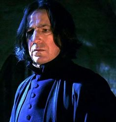 Alan as Severus Snape Harry Potter Friends, Harry Potter Severus Snape, Harry Potter Characters, Harry Potter World, Severus Hermione, Professor Severus Snape, Severus Rogue, Alan Rickman Always, Alan Rickman Severus Snape