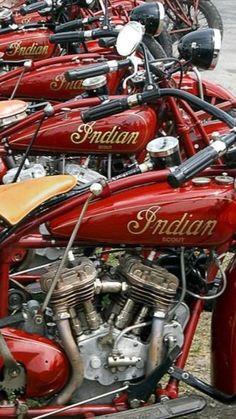 Indian Motorbike, Vintage Indian Motorcycles, Antique Motorcycles, American Motorcycles, Vintage Bikes, Indian Motors, Chopper Bike, Harley Bikes, Motor Scooters