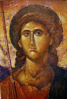 Mihály arkangyal (Deésziszből), 14. sz. (Athén, Bizánci Múzeum)