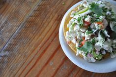 Santa Monica's new Tacos Punta Cabras brings with it some innovative dishes like this cauliflower tostatas!