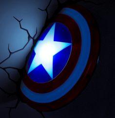 Captain America Shield Light | #Giveaway #12WeeksOfGiveaways