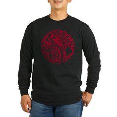 CafePress  Red Hawaiian Islands Long Sleeve TShirt  Unisex Cotton Long Sleeve TShirt -- Visit the image link more details.