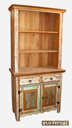 Rusticare :: Móveis em madeira de demolição, feitos em Peroba Rosa, originária de casarões antigos.