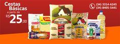 Distribuidora de cesta básicas com sede em Uberaba. Atendemos toda a região de Uberaba, Uberlândia, C