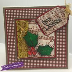 Crafters companion, spectrum noir, illustrator pens, christmas card