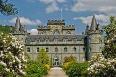 Castelo de Inveraray - Escócia - faça um passeio virtual aqui