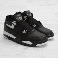 premium selection 776cd 79773 Now Buy Nike Air Flight 89 Black Grey Sport Shoes Save Up From Outlet Store  at Nikelebron.