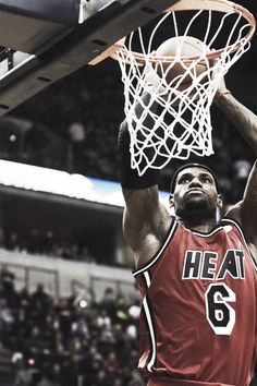 My current favorite player and a personal role model of mine, Lebron James. He's shown that talent alone isn't enough, it takes relentless hard work and dedication to succeed.