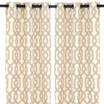 Find similar ones, Kirkland's doesn't carry these anymore. Tan Grommet Gatehill Curtain Panels at Kirkland's (Living Room)