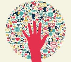 Social media success circle with hand Vector file layered for. Marketing Digital, Marketing And Advertising, Social Media Marketing, Seo Marketing, Mobile Marketing, Marketing Strategies, Marketing Techniques, Web Design Company, Community Manager