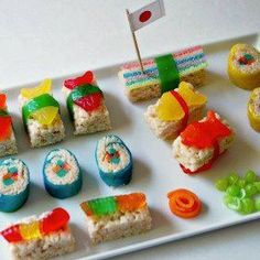 Candy Sushi Recipes