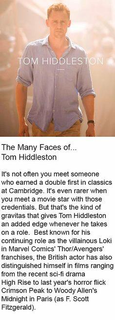 The Essential Journal: The Many Faces of. Link: www. Tom Hiddleston Gentleman, Tom Hiddleston Loki, Perfect Man, A Good Man, Zachary Quinto, Zachary Levi, Thomas William Hiddleston, Many Faces, Gorgeous Men