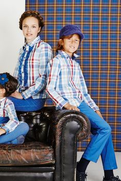 Combined look for the whole family | Looks combinados para toda la familia