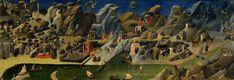 126. Beato Angelico - Tebaide - 1418-20 - Firenze, Uffizi