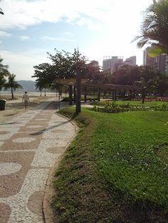 Praia de Santos - Brazil.