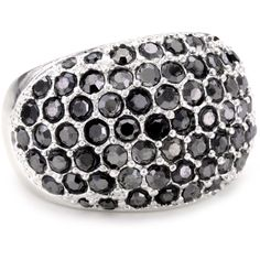"Erica Anenberg ""Gunmetal"" Hematite-Color Cocktail Ring"