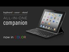 THE iPad2 Folio with bluetooth keyboard. Cool looking, sturdy/protective, and a great keyboard with long battery life. 5 Stars for this one!