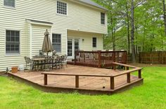 do it yourself back yard decks - Google Search
