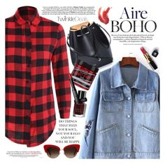 """""""Plaid"""" by vanjazivadinovic ❤ liked on Polyvore featuring N°21, Chanel, Manic Panic NYC, Bobbi Brown Cosmetics, Dolce&Gabbana, NARS Cosmetics, polyvoreeditorial and twinkledeals"""