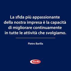 Pietro Barilla e l'impresa