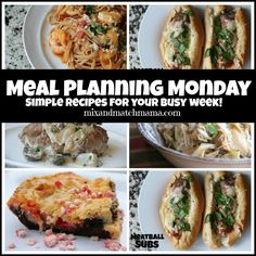 Meal Planning Monday #162