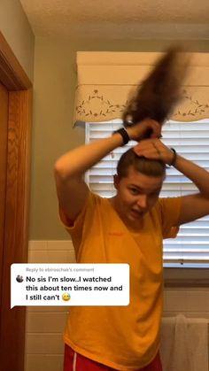 Easy Bun Hairstyles, Pretty Hairstyles, Formal Hairstyles, Hairdos, Curly Hair Tips, Curly Hair Styles, Hair Wrap Scarf, Hair Upstyles, Rapunzel Hair