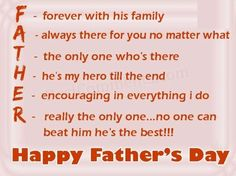 father's day 2013 sms in english