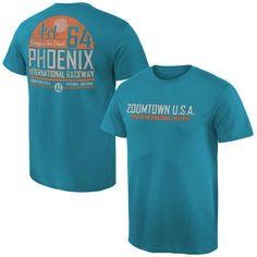 Phoenix International Raceway Sunset T-Shirt - Teal